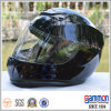 Мотоцикл полной стороны Shine черный участвуя в гонке шлем на сбывании (FL101)