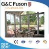 Полуфабрикат алюминиевый Sunroom для виллы складывая Conservatory двери