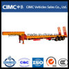 Cimc Low Flatbed Semi Trailer con Tri-Axle