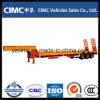Cimc Lage Flatbed Semi Aanhangwagen met tri-As
