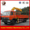 Camion-Mounted Crane di 15-20tons Dongfeng Loading