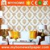 Les papiers de mur imperméables à l'eau de PVC de fournisseur de la Chine autoguident le décor