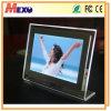 Het Frame van de Foto van het Kristal van het tafelblad met Magnetisch Gezicht