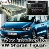 Video interfaccia dell'automobile per la sede ecc di Volkswagen Sharan Tiguan Skoda con il sistema del MIB, la parte posteriore Android di percorso ed il panorama 360 facoltativi