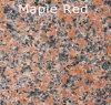 G562自然なカスタマイズされたかえでの赤い花こう岩のタイル