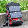 Carregador solar dobrável de 12W para o laptop do telefone móvel