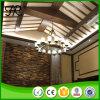 Luminárias clássicas de lustres de madeira para decoração