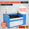 Cortadora del grabado del laser del CO2 de Sh-G350d 50W