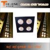 Luz dos antolhos do estágio da audiência do diodo emissor de luz de 4 olhos