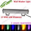 luz blanca roja de la arandela de la pared del color LED de 18W /Green/Blue/White/Warm