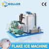 máquina de gelo grande do floco da capacidade 8000kg/Day para a fábrica dos peixes do armazenamento do alimento