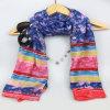scialli dell'accessorio di modo della sciarpa del fiore della stampa 100%Polyester per le ragazze