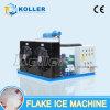 Machine de glace d'éclaille d'économie de l'espace de Koller équipée du coffre de réception de glace (2 tonnes de jour)