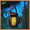 Lâmpada solar do candelabro do balcão da barra do restaurante do jardim do Rattan