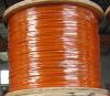 Câble métallique enduit d'acier inoxydable de PVC