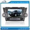 Der DVD-Spieler von AutoSpecial für Toyota-Hochländer (E-2003)