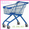 60L Style europeo Steel Shopping Trolley