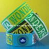 Wristband su ordinazione impresso del silicone riempito colore