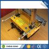 高圧クリーニング機械が付いているレンダリング機械を塗る壁