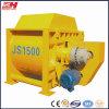 Mezclador concreto del eje del gemelo de la capacidad grande Js1500 para la venta caliente