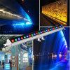 Luz linear impermeable al aire libre sin hilos de la colada del automóvil 72W LED de DMX