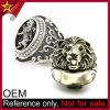 Anillo de encargo al por mayor del león de Judah del acero inoxidable de la plata del Mens