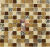Shinning polvo de cristal y mármol del mosaico de piedra (CS070)