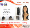 브라질 Virgin Hair Front Lace Wigs (26Inch-Straight)