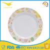 Vaisselle occasionnelle de couverts de Noël de vaisselle de plaque de dîner d'assiette de mélamine bon marché