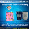 Food Grade Chocolate Mold Makingのための液体のSilicone Rubber