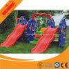 아이를 위한 다채로운 학교 실행 구조 작은 플라스틱 활주