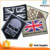 Correção de programa militar de Velcro do PVC da bandeira de Reino Unido da moral tática feita sob encomenda