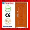 Portes blindées en acier et bois à prix bon marché (CF-M027)