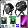 Stage Wash Lighting 6PCS LED Stage PAR Lights by DMX Controller /LED Waterproof PAR Stage Light