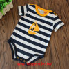 Babies를 위한 Breathable Print Pure Cotton Stripe Romper