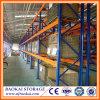3 séries/camadas/racking da pálete do armazém cremalheira dos níveis para o uso do armazenamento da carga