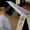 Огнезащитная алюминиевая пена с алюминиевым листом
