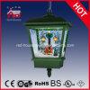 Regalos de boda de Navidad de Navidad de Polyresin vacaciones decoración de la lámpara