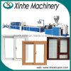 Cadena de producción plástica de máquina de la protuberancia del perfil de madera de la puerta con alto Efficience