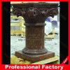 Coluna romana de mármore Polished do preço de fábrica