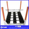 Cremalheira de aço de empilhamento Foldable personalizada/cremalheira de aço de empilhamento Foldable das peças da cremalheira/automóvel