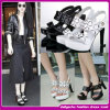 ¡Precio barato del fabricante! Sandalia de lujo atractiva de 2015 nuevas señoras (M-124)