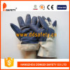 Перчатки мебели белой подкладки задней части хлопка полной голубые (DLH106)