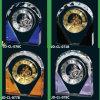 Римские самомоднейшие смешанные подарки кристаллический часов цвета