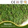 景色の庭の人工的な芝生の草の合成物質の泥炭
