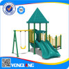 아이 Amusemrnt Park Plastic Slide와 Swing Outdoor Playground Set (YL72758)