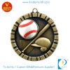 Античное бронзовое медаль бейсбола для школы