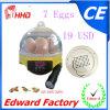부화를 위한 소형 7개의 계란 부화기의 최신 판매 (EW9-7)