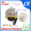 Venta caliente de la mini incubadora de 7 huevos para tramar (EW9-7)