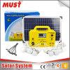 piccolo sistema solare di 30W 18V per il LED esterno